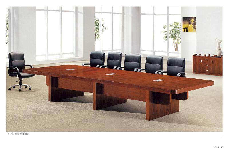 会议桌:TH-002   规格:4800W*1500D*750H