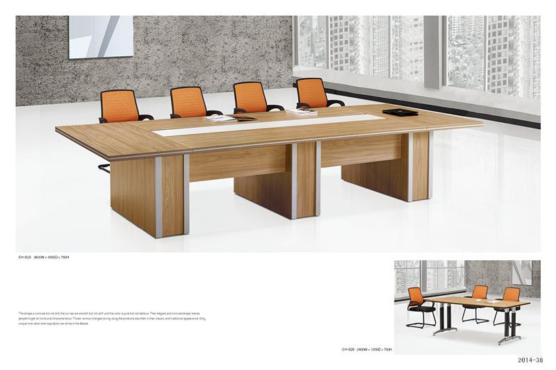 会议桌:TH-019规格:3600W*1500D*750H小会议桌:TH-020规格:2400W*1200D*750H
